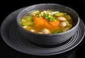 תפריט סוהו - מנות פתיחה - מרק ירקות אסיאתי