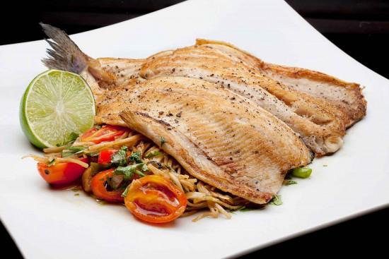 תפריט סוהו - דגים ופירות ים - פורל צ'אנג מאי