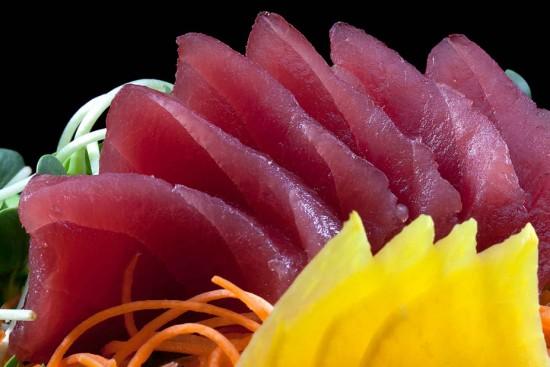 תפריט סוהו - סושי, סשימי - סשימי טונה (6 פרוסות)