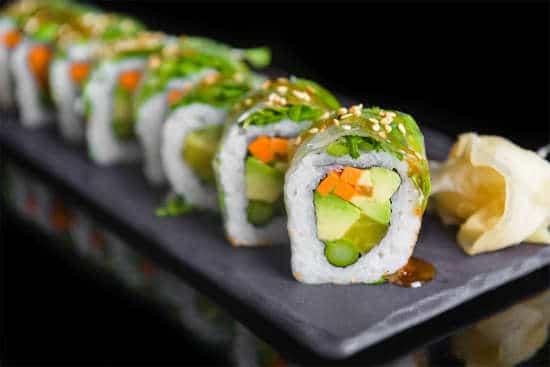 תפריט סוהו - הוסומאקי 8 יח', סושי - Fresh vegi