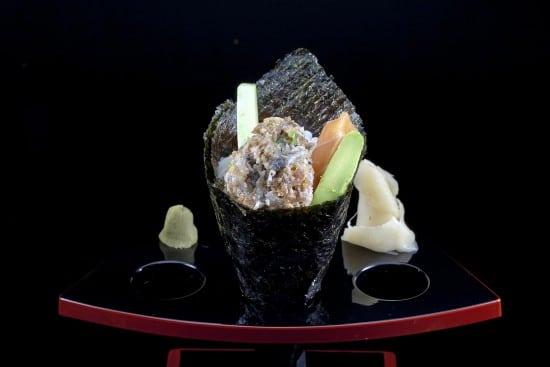 מנת סאקמורי טמאקי במסעדת הסוהו