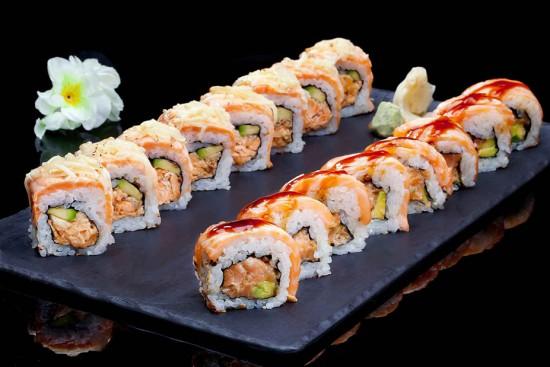 תפריט סוהו - עסקית סושי 3 - קומבינצית HOT