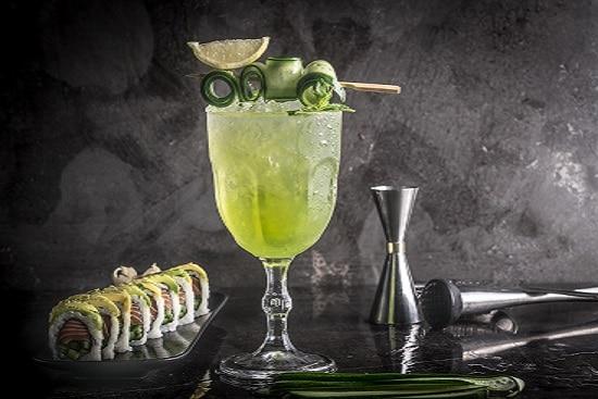 תפריט סוהו - קוקטיילים - Green Gin