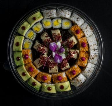 מנת קומבינציית סופר ווג'י במסעדת הסוהו