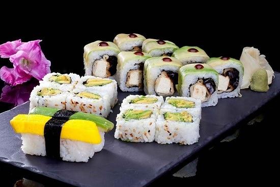 תפריט סוהו - סושי, צמחוני, קומבינציות - קומבינציה צמחונית
