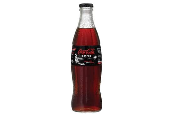 תפריט סוהו - שתייה קלה - קולה ZERO