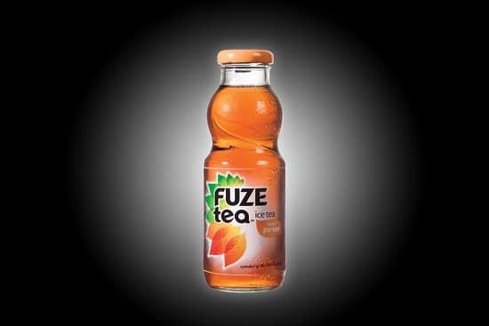 תפריט סוהו - שתייה קלה - Fuze Tea אפרסק בקבוק זכוכית